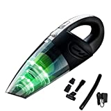 Rechargeable Handheld Vacuum Cordless,Cofuture 12V 120W Powerful Cyclone Suction Vacuum Cleaner, Quick Charge with 2200mAh Lithium Battery,Wet Dry Vacuum Cleaner for Pet Hair,Dust,Home and Car,Black Review