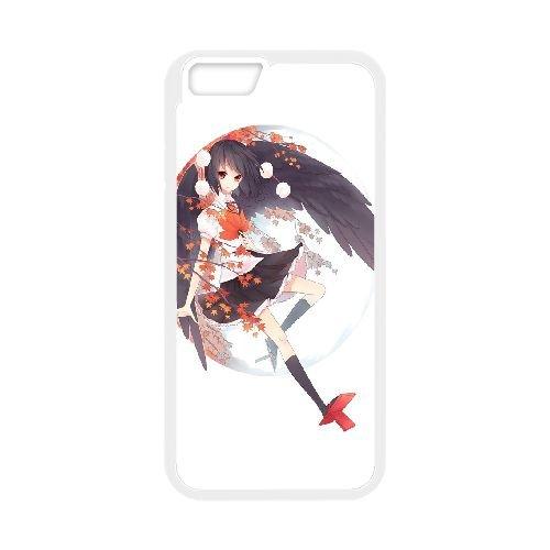 Aya Shameimaru Touhou Project coque iPhone 6 4.7 Inch Housse Blanc téléphone portable couverture de cas coque EBDOBCKCO11824