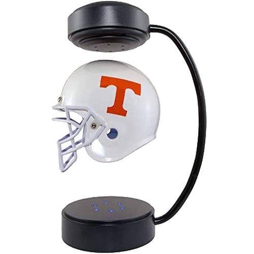Light Vols Tennessee (Tennessee Volunteers NCAA Hover Helmet - Collectible Levitating Football Helmet with Electromagnetic Stand)