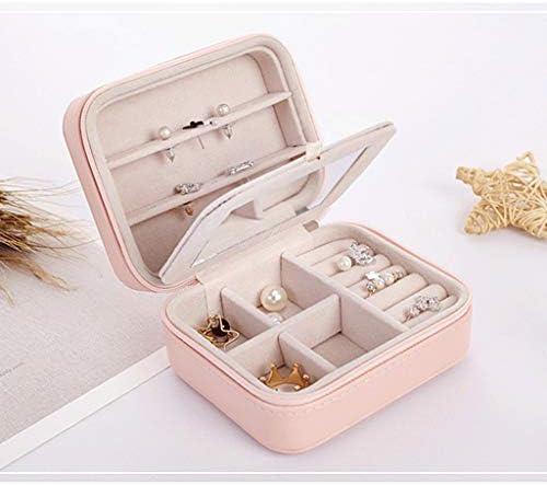 Mini Caja de Almacenamiento portátil Pulsera Anillo Collar Pendientes Caja de joyería Fundamentos de Viaje: Amazon.es: Hogar