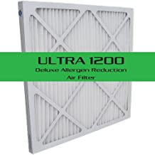 ULTRA 1200 Deluxe Allergen Reduction Air Filter 6-Pack, 15x20x1 (14.5x19.5)