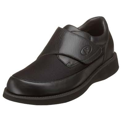 Propet Men's Pedwalker 15 Slip-On,Black,8 M (US Men's 8 D)