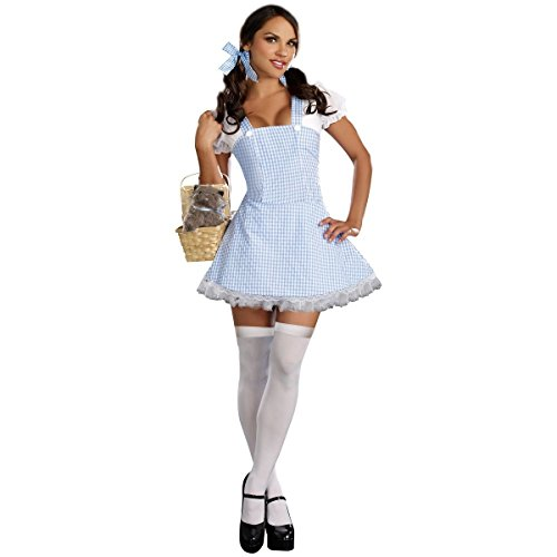 GSG Dorothy Costume Adult Sexy Halloween Fancy Dress