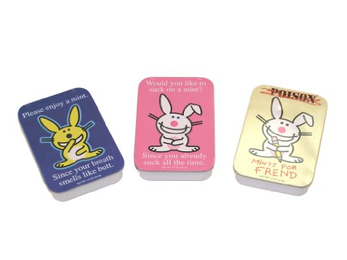 It's Happy Bunny Mints, Pack of 3