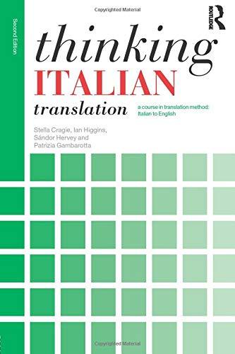 Thinking Italian Translation (Thinking Translation)