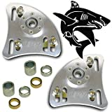 UPR 1994-2004 Mustang Billet Shark Caster Camber Plates
