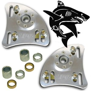 UPR 1994-2004 Mustang Billet Shark Caster Camber Plates by UPR Products