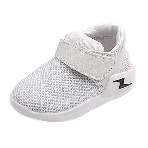 Vibola® Baby's Running Shoes Fashion Casual Sneakers Sports Shoes (Size:24-US:7.5, White)