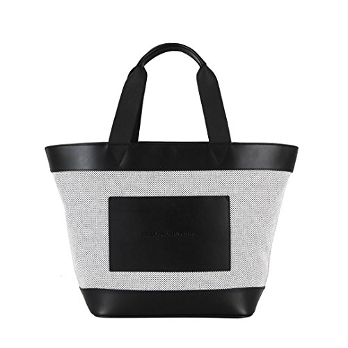 Mod Tote Canvas Alexander Wang With Donna Rhodium White Black 20t0048 And IXpq4z7p