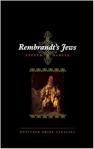 Rembrandts Jews 1st Edition