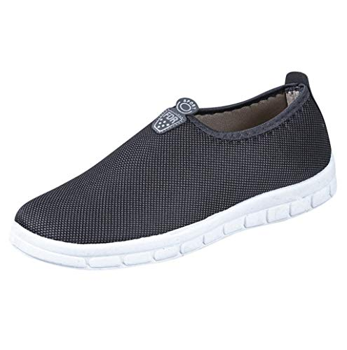 Women's Flat Shoes, Cotton Lightweight Slip On Casual Walking Sneakers Loafers Soft Shoes Sopzxclim