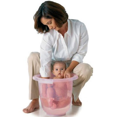 Badeeimer Tummy Tub pink/rose DomoVital