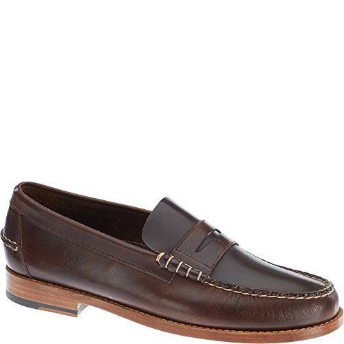 Sebago Legacy Penny Slip On Shoes Donkerbruin Leer