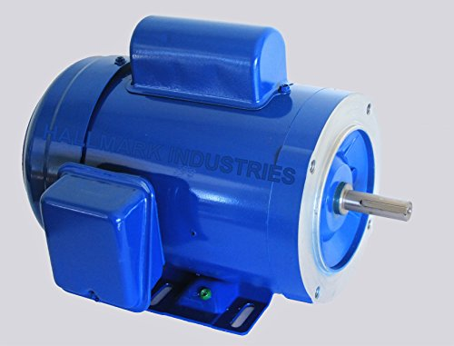 AC MOTOR, 1HP, 1725RPM, 1PH/60HZ, 115/208-230V, 56C/TEFC, CAP Start, Removable base 56c Bolt