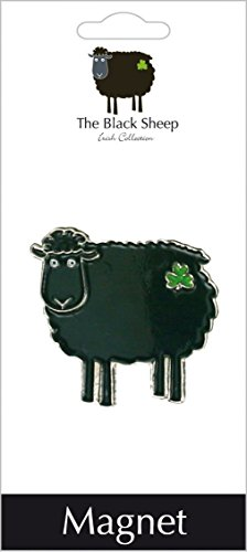 Black Sheep Fridge Magnet ()