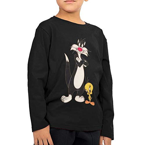 Tweety Bird And Sylvester Costumes - Childrens Clothes Boys Long Sleeve 5/6T