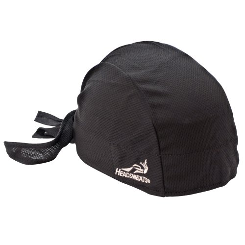 Headsweats Classic Hat, Black, One Size