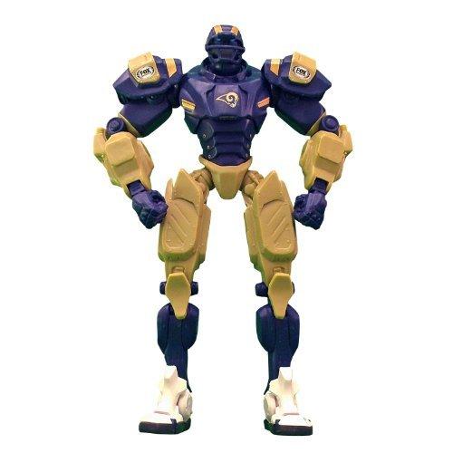 "St. Louis Rams 10"" Team Cleatus FOX Robot NFL Football Action Figure Version 2.0 by ADVENTURER'S BAG"