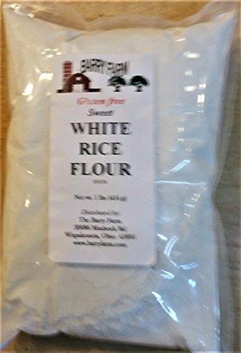 - Sweet White Rice Flour, 1 lb.