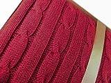 Lauren Ralph Lauren Blanket, Cable Knit 50' x 70' Throw, Red