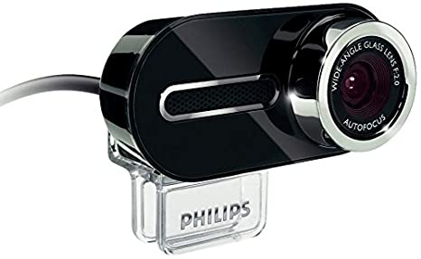 Philips SPZ 6500 2 MP CMOS - Webcam para portátil (zoom 8x, doble micrófono, USB 2.0), color negro: Amazon.es: Informática