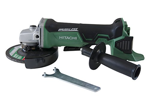 Hitachi G18DBALP4 18-Volt Lithium-Ion Brushless 4-1/2-Inch Angle Grinder (Tool Only, No Battery)