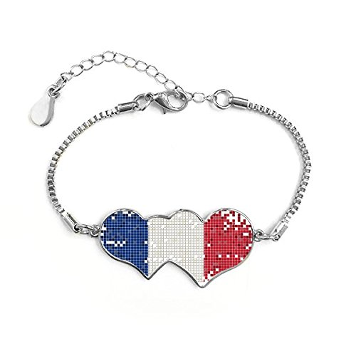 france-simple-grid-national-flag-architecture-custom-landscape-illustration-pattern-double-hearts-sh