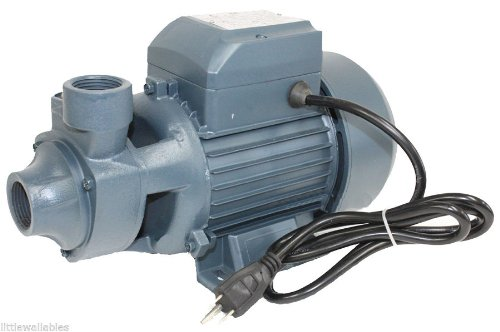 QUESTCRAFT New 110v 13GPM LIFT 26ft 1HP Electric Clear Water Pump pool pond (Pool Water Electric Pump)
