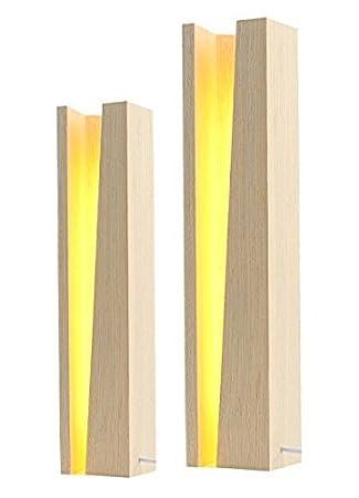 Guorzom Einfache Massivholz Tischlampe Schlafzimmer Atmosphare