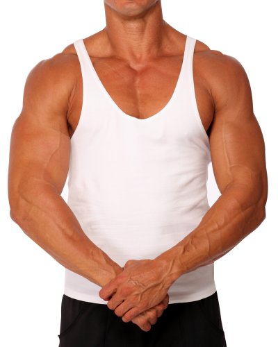 e78e911048792 Mens Stretch Cotton Stringer Tank Top by Pitbull in your choice of color -  Buy Online in UAE.