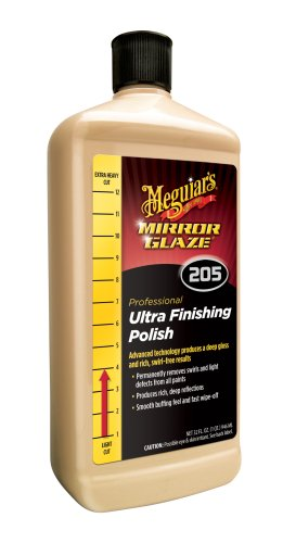 Meguiar's M205 Mirror Glaze Ultra Finishing Polish - 32 (Meguiars Fine Cut Cleaner)