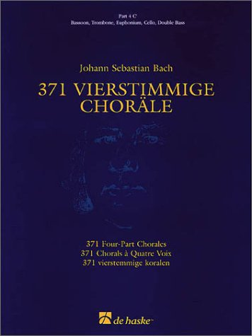 371 4-part Chorales C Part 4a (De Haske Concert Band Full Set)
