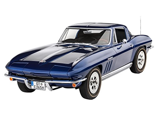 Revell 07434, 1965 Corvette Sting Ray, 1:8 scale plastic model (8 Scale Model Kit)