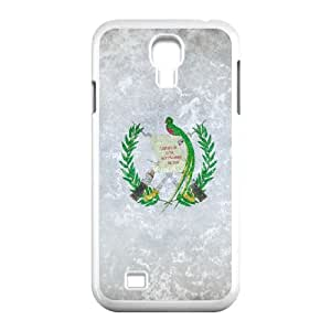 grunge flag of guatemala Samsung Galaxy S4 9500 Cell Phone Case White Custom Made pp7gy_7203353