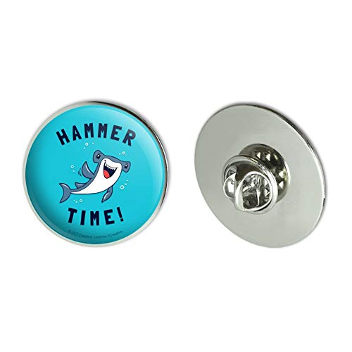 - GRAPHICS & MORE Hammerhead Shark Hammer Time Funny Humor Metal 1.1