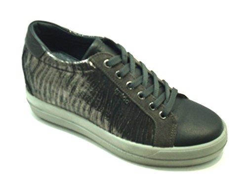 IGI&CO scarpe donna sneakers zeppa interna 87712/00