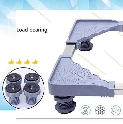 DSHBB Washing Machine Base,Multifunction Trolley Washing Machine Base, Floor Landing Frame For Washing Machine Pedestal Fridge Base Rack by DSHBB (Image #5)