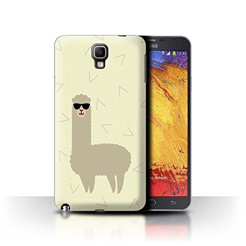 STUFF4 Phone Case / Cover for Samsung Galaxy Note 3 Neo / Cool Shades Sunglasses Design / Cartoon Alpaca - Neo Sunglass