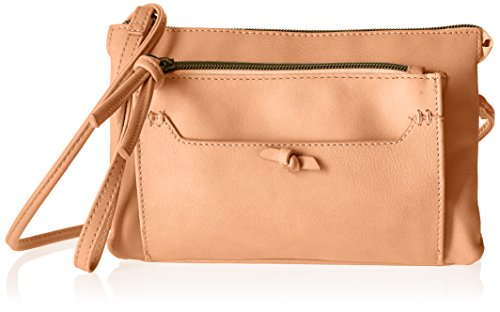 T-Shirt & Jeans Convertible Cross Body and Wristlet, Blush