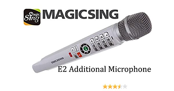 7edce6279cc Amazon.com: Magic Sing EB2 · Additional Wireless Microphone for the Magic  Sing E2 Karaoke Machine: Musical Instruments