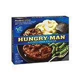 Hungry Man Salisbury Steak, 18 Ounce – 8 per case. For Sale