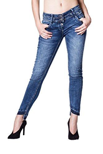 Blue Monkey Blau Jeans Donna Basic Skinny Orw8xOFqU