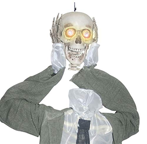 Talking Skull Halloween - HORROR-HALL Life Size Animated Severed Head