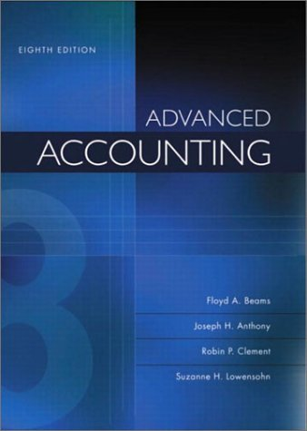 Advanced Accounting: 8th (Eigth) Edition