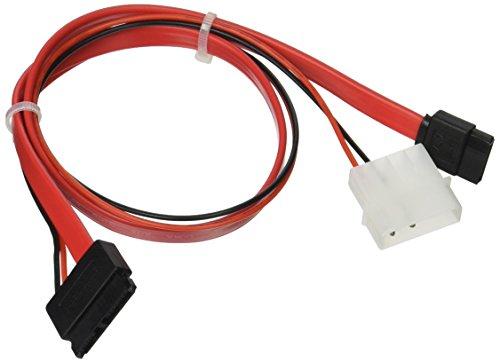 Monoprice 16-Inch Slim SATA to SATA Data and Power Combo Cab