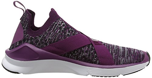 Dark Chaussures Purple Fierce Puma white Evoknit Femme de Violet Fitness p0SBwqPE