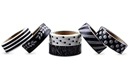 LolliZ Washi Tape - Movie Magic Set with Six Rolls of Fun and Festive Colors