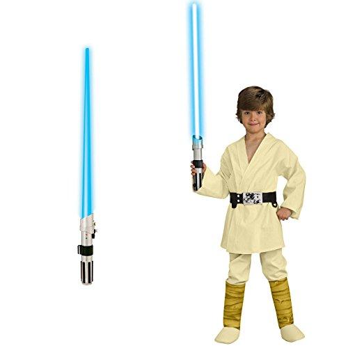 Star Wars Luke Skywalker Deluxe Child Costume Bundle Set - Medium -