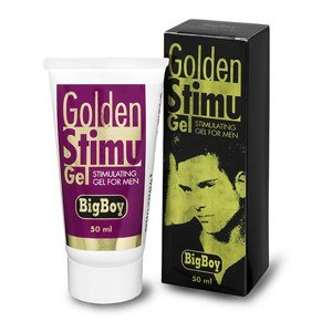 Kamanutra Golden Stimu- Stimulating Gel for Men, Increase Sexual Performance 50 Ml/ 1.7oz