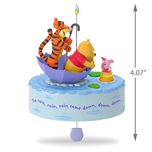 Hallmark Keepsake 2017 Winnie the Pooh A Blustery Day Musical Christmas Ornament With Motion by Hallmark (Image #3)